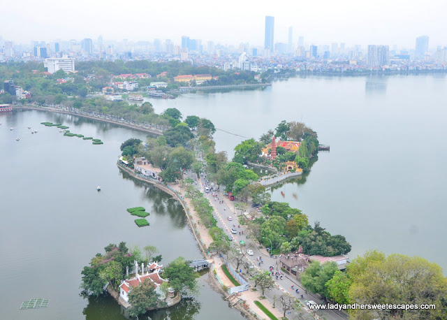 West Lake view from Summit Lounge