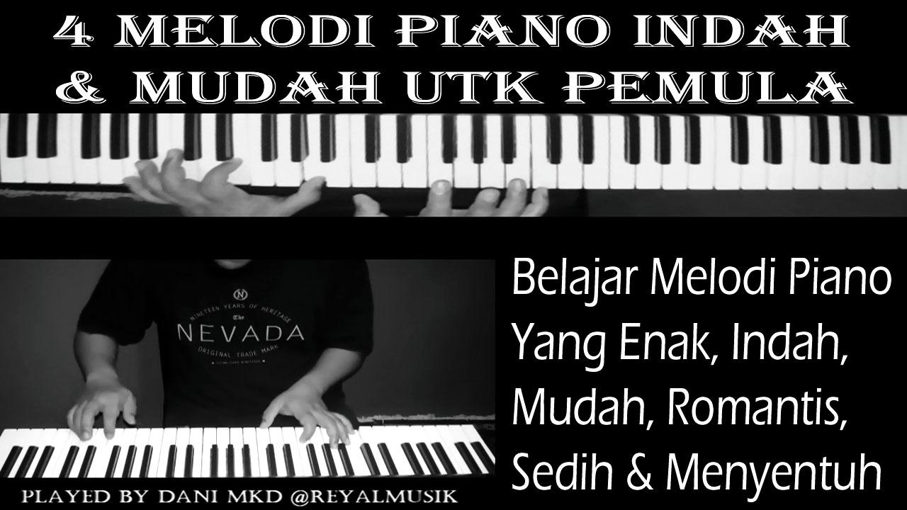 Belajar Melodi Piano Yg Enak Indah Mudah Romantis