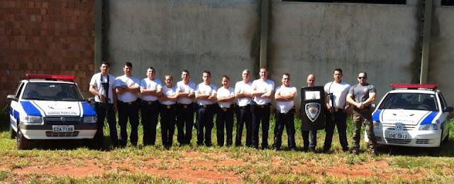 Inspetor Chefe Salathiel de Araras ministrou curso tático para a Guarda Municipal de Itápolis