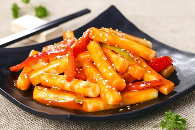 Resep Tteokbokki Chanyeol dan Cheese