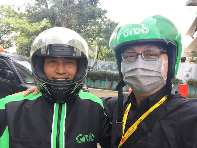 Grab Bike in Indonesia