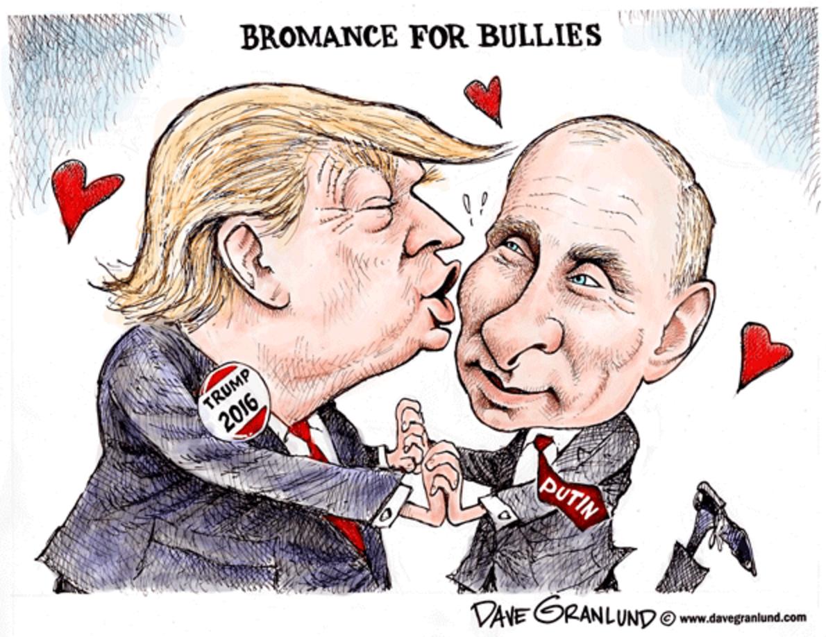 international affairs the trump putin love chronciles