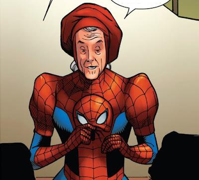 Mengenal Spider-Ben dan Spider Ma'am, Ketika Paman Ben dan Bibi May Memiliki Kekuatan Spider-Man