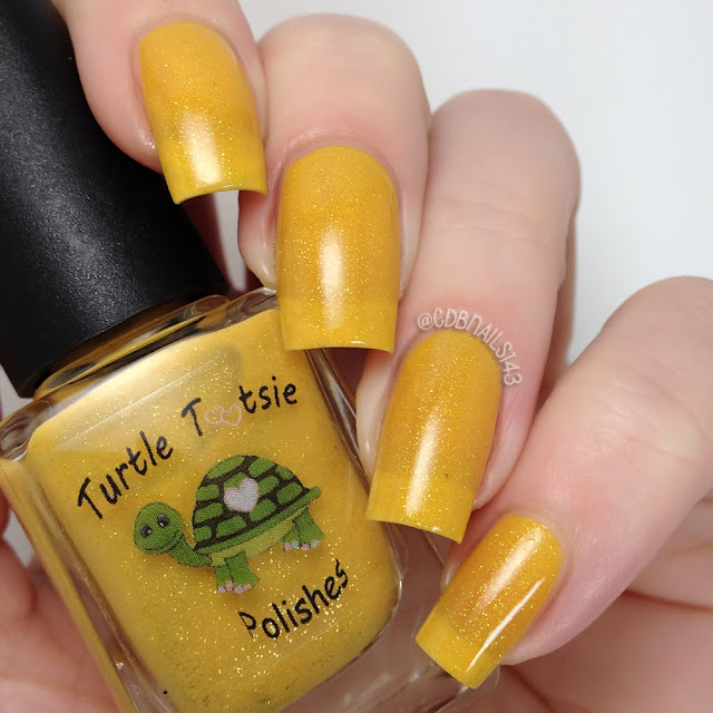 Turtle Tootsie Polishes-The Yellow Ones Don't Stop