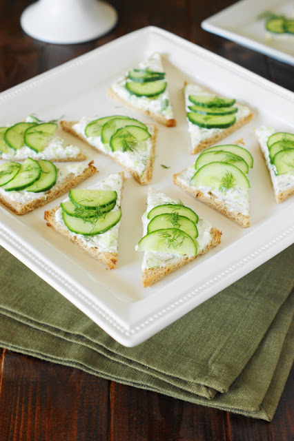 Cucumber Sandwiches photo