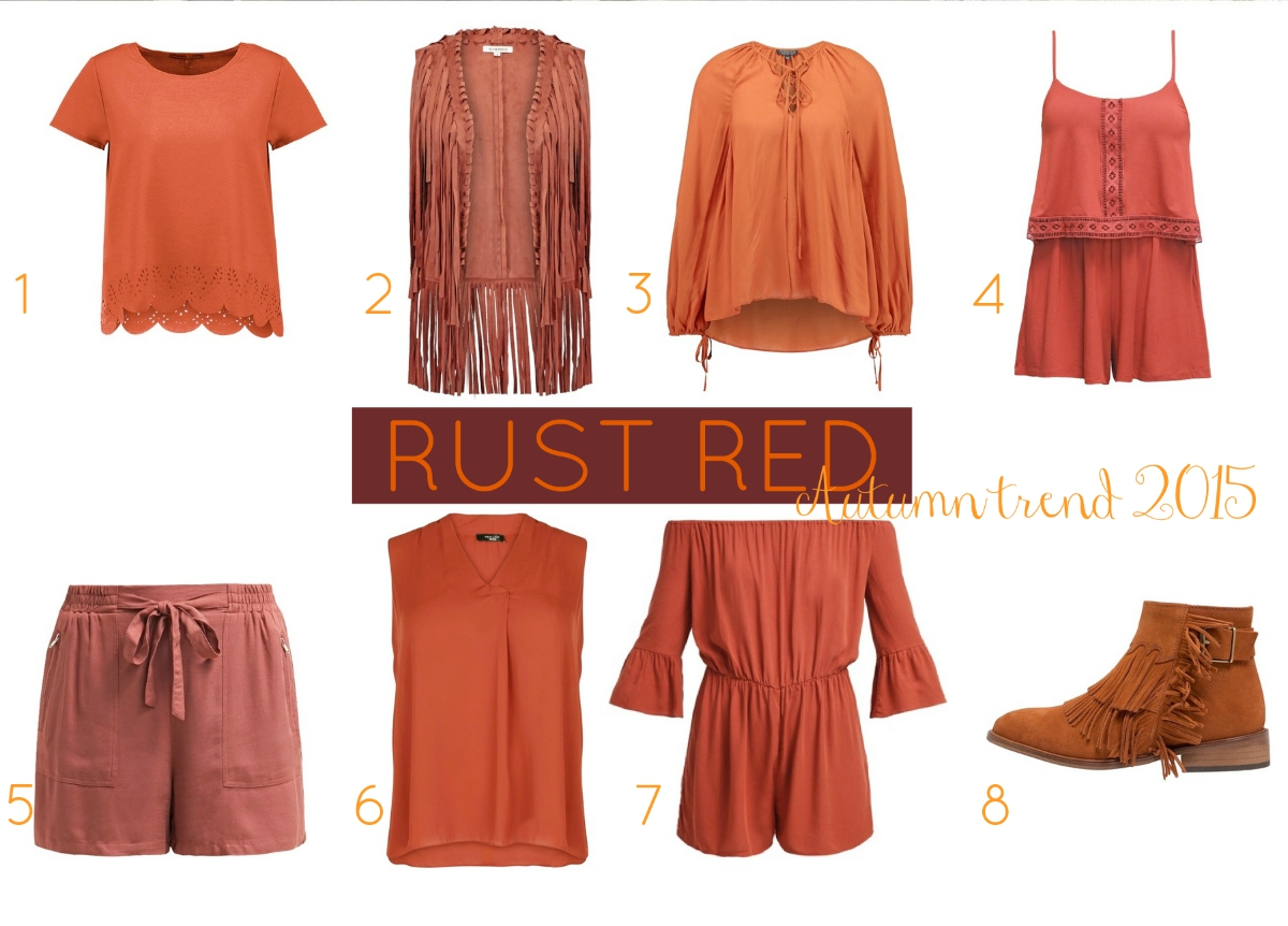 Rustred Fashion Inspiration Trends Editors Picks Rust red Rostrot
