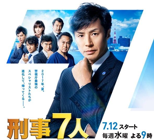 Sinopsis Keiji 7 nin / 刑事7人 (2017) Season 3 - Serial TV Jepang