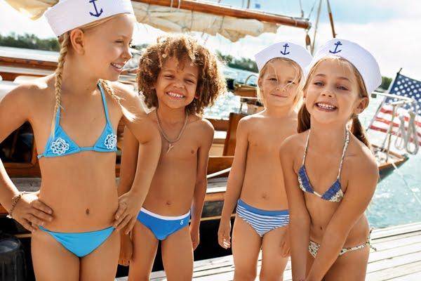 trajes de baño niños 2012 Calzedonia