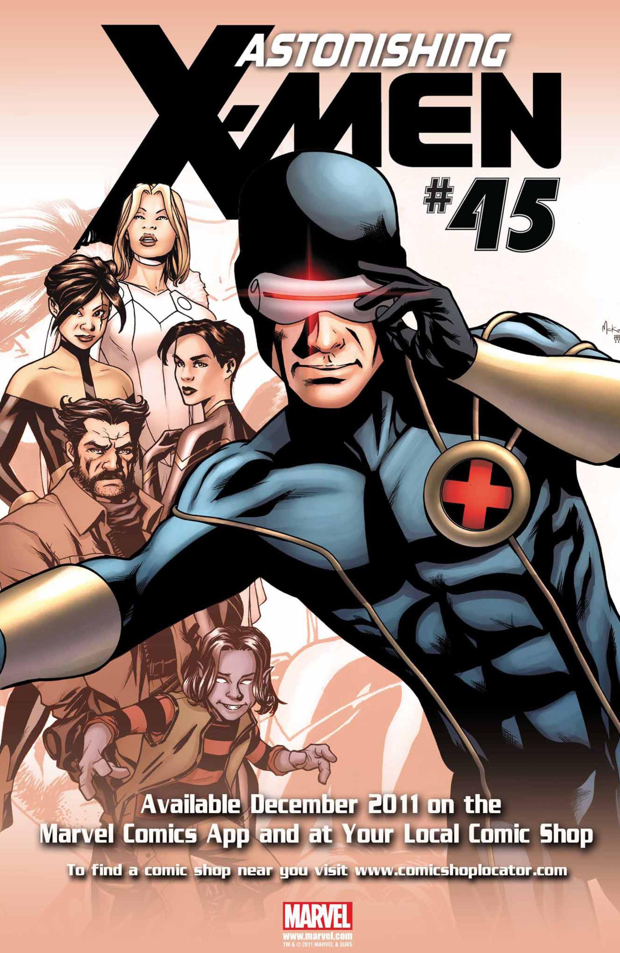 Read online Astonishing X-Men (2004) comic -  Issue #44 - 24