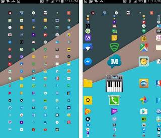 launcher android unica schermata