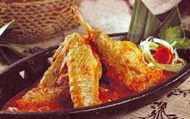 Resep dan Cara Membuat Ayam Seraki Pedas