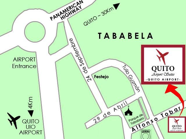 Hotel cerca del nuevo aeropuerto de Quito