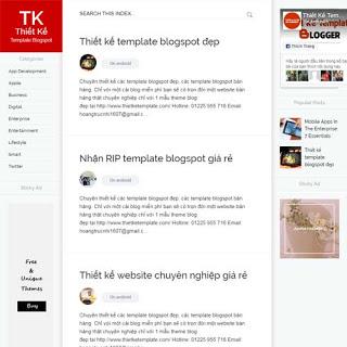 theme blogspot miễn phí
