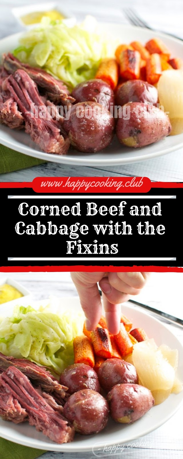 Corned Beef and Cabbage with the Fixins