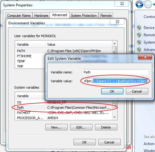 Mongkol's lifestyle : OpenCV 2 3 1 + MS-VC++ 2010 (Windows