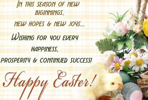 Best Happy Easter 2017 Messages