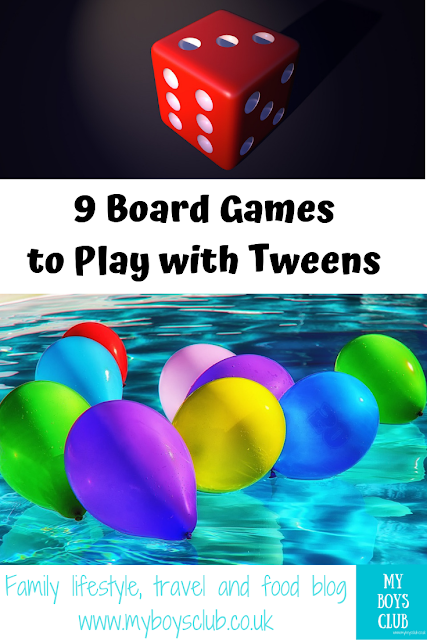 9 Board Games to Play with Tweens this Christmas