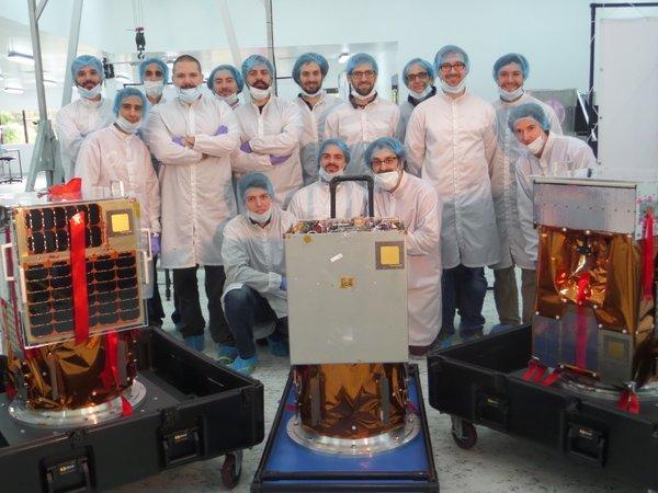 Resultado de imagen para ciencia y tecnologia argentina microsatelite