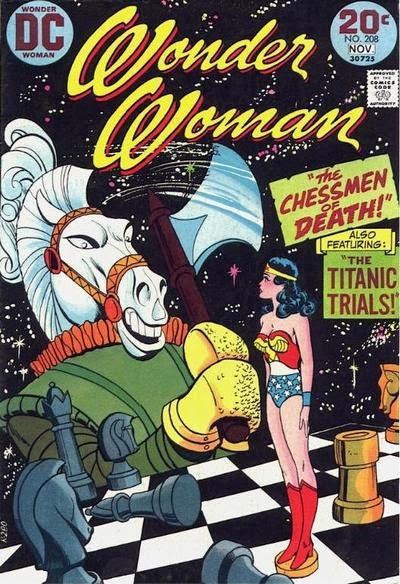 Wonder Woman #208, Chessmen of Death