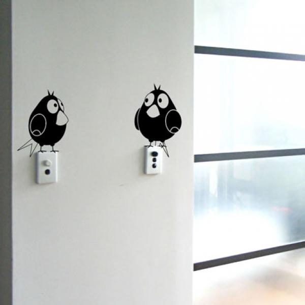 vinilos decorativos para pared llavetecla de luz