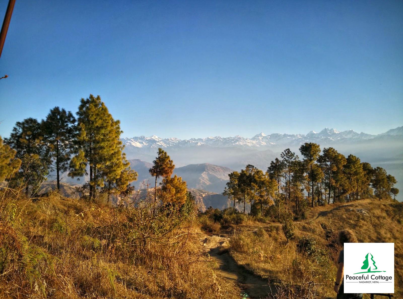 Nagarkot Panoramic Hiking Trail With Inspiring Views