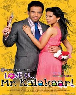 Love U Mr Kalakaar (2011) Bollywood movie mp3 song free download
