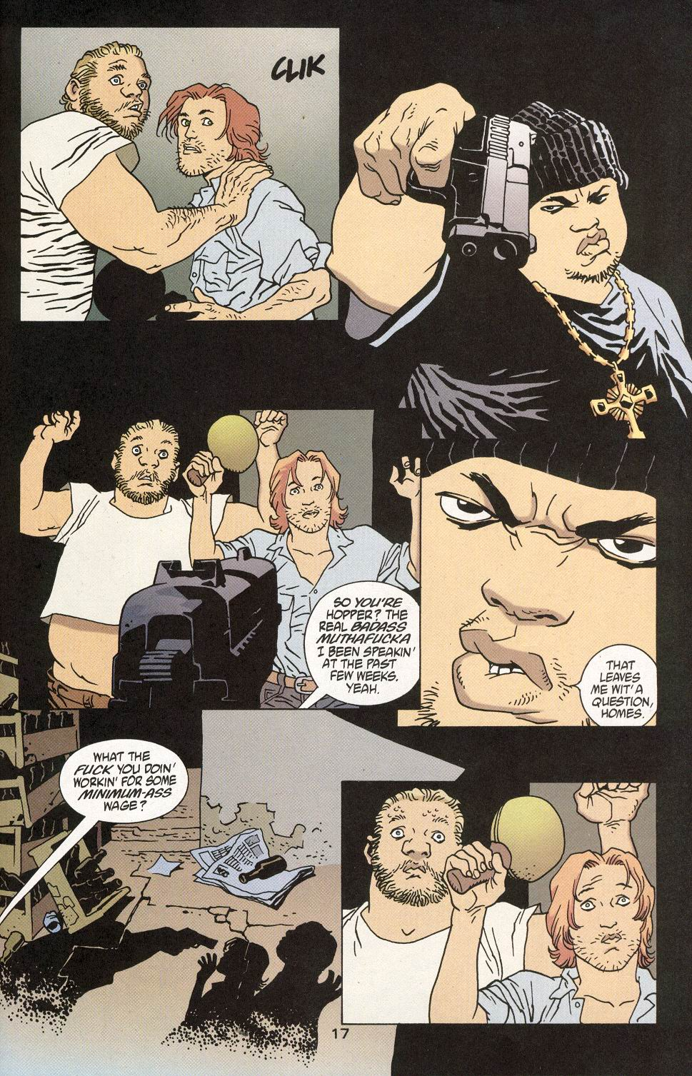 Read online 100 Bullets comic -  Issue #28 - 19