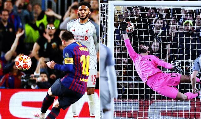 Gol de Messi a Liverpool - Vídeo