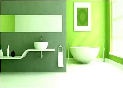 The Green Spa Bathroom Ideas  in Your Home