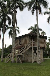 Réplica de un fuerte de las guerras Seminoles
