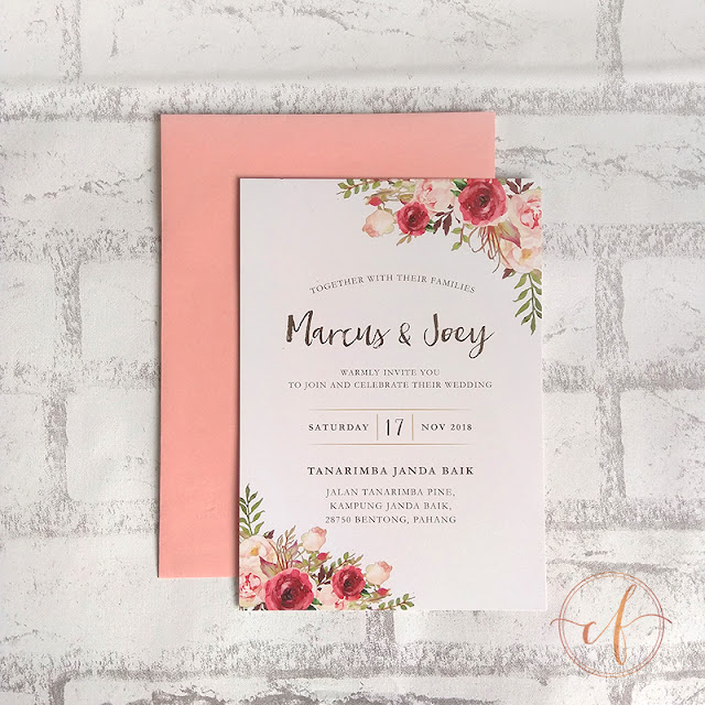 Garden Wedding Card Tanarimba Janda Baik