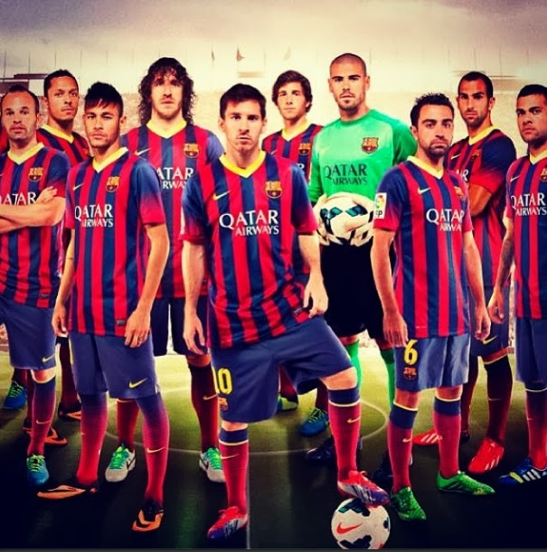 Fc Barcelona Team Wallpapers 2014