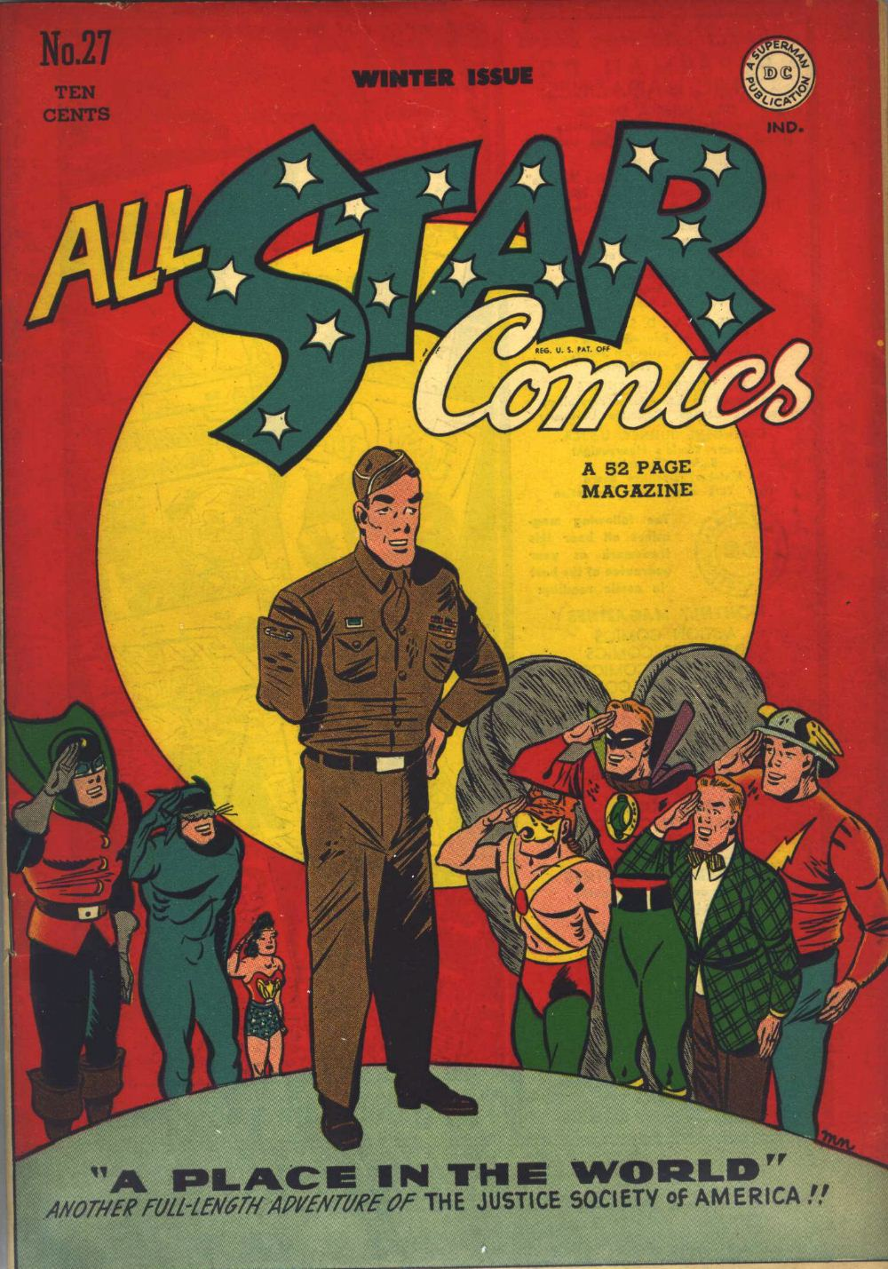 Read online All-Star Comics comic -  Issue #27 - 1