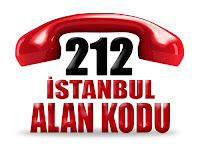 0212 İstanbul Avrupa yakası telefon alan kodu
