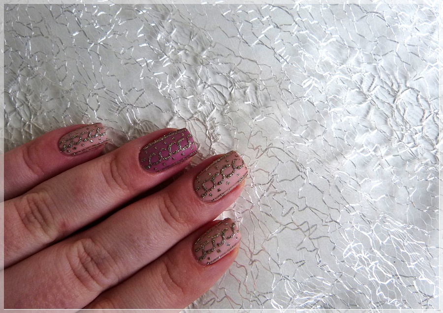 Knitted Nails Nageldesign