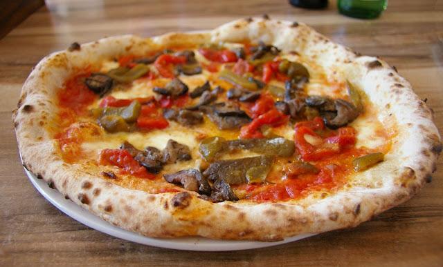 Pizzaiolo Micheluccio, Camberwell, pizza, ortolana
