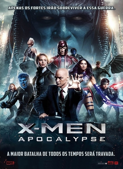 Download X-Men Apocalipse RMVB Dublado HDRip Torrent