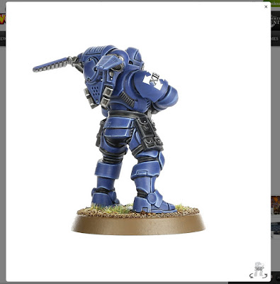 8th edition primaris space marine reivers review grav chute