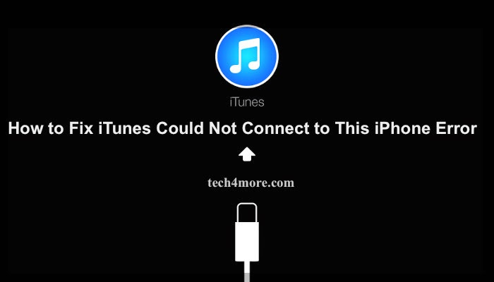 iphone says connect to itunes how to fix itunes could not connect to this iphone error 17690