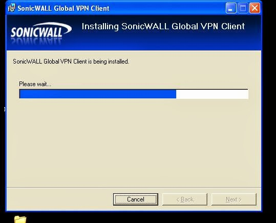 Sonicwall Group vpn client setup