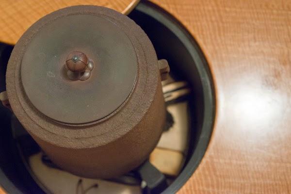 表参道SHOPの中2階のお茶のお道具1