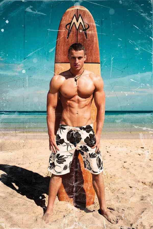 mann.mann.mann: Kerle am Strand