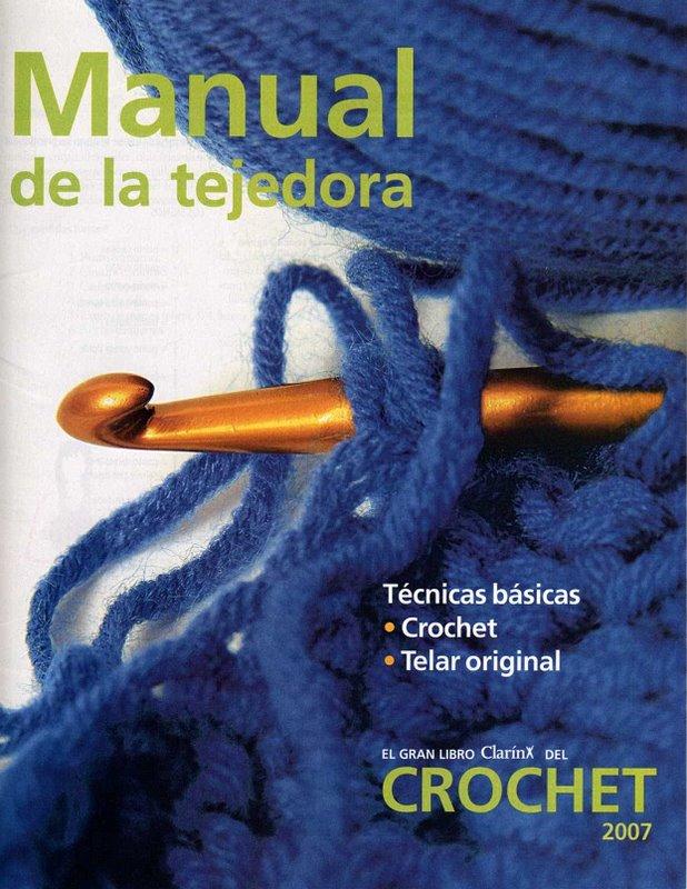Técnicas Básicas Crochê-Revista Manual De La Tejedora