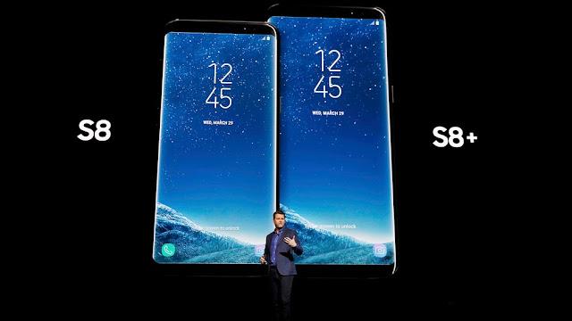 Lançamento Samsung Glaxy S8 S8+