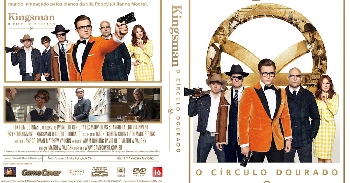 Capa Kingsman: The Golden Circle Torrent 720p 1080p 4k Dublado Baixar