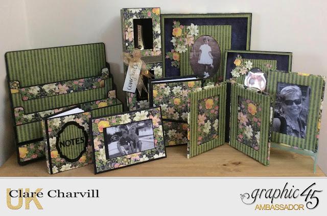 Floral Shoppe Samples The Handmade Fair 2018 Graphic 45