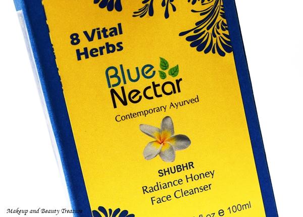 blue nectar face wash