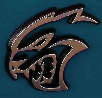 dodge charger srt hellcat widebody signature logo