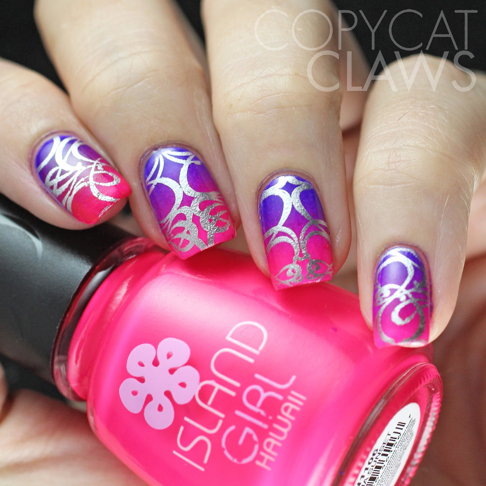 Copycat Claws: It Girl Nail Art Stamping Plates Review