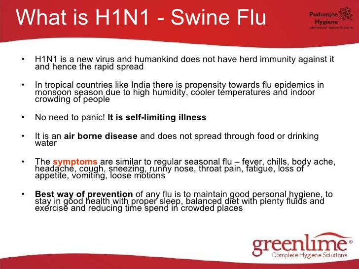 h1n1 and the regular seasonal flu Seasonal influenza and influenza a(h1n1) cause influenza viruses belonging to the family orthomyxoviridae in temperate regions, influenza is a seasonal disease occurring typically in winter months: it affects the northern hemisphere from november to april and the southern hemisphere from.